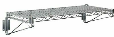 Vogue Wire Wall Shelf Restaurant Catering Kitchen Heavy Duty Shelving 910 x360mm