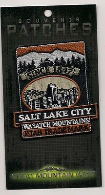 Souvenir Travel Patch - Salt Lake City Utah - Since 1847