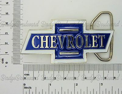 Chevrolet Chevy Bowtie Belt Buckle