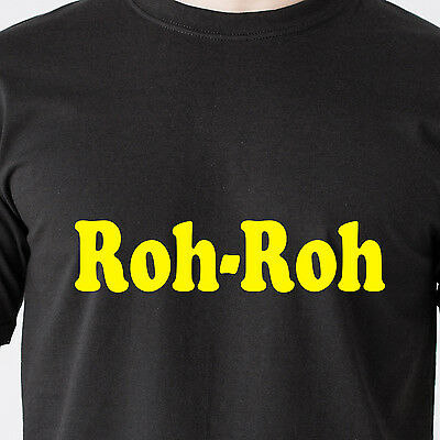 Roh-Roh scooby doo oh-oh cartoon ha mn radio show vintage retro Funny T-Shirt