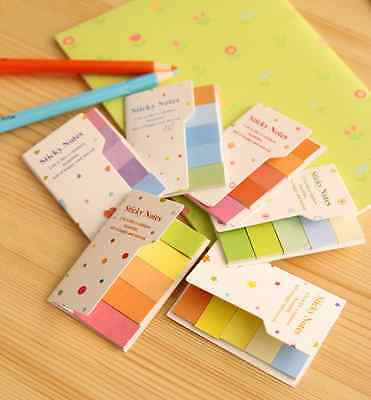 Rainbow Colorful Stick Post-it/ Sticky Note/ Memo/ Writing Pad