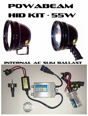 """70w HID Kit to suit Powabeam 175 (7""""), 245 (9"""") Handheld and Remote Lights"""