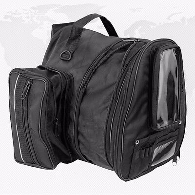 Magnetic Motorcycle Sports Tank Bag Motorbike Map GPS Window Mobile Carry Straps
