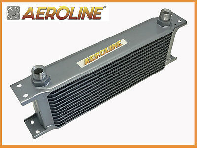 "Aeroline 10 13 15 Row Oil Cooler 1/2"" BSP MGB, MIDGET, MINI, FORD, TRIUMPH"