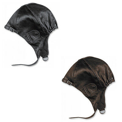 Held Caps Unisex Motorcycle Motorbike Cowhide Leather Cap | All Colours & Sizes