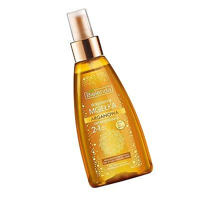 BIELENDA 2 IN 1 PRECIOUS ARGAN BRONZING MIST BODY & FACE ARGANNEBEL 150ml