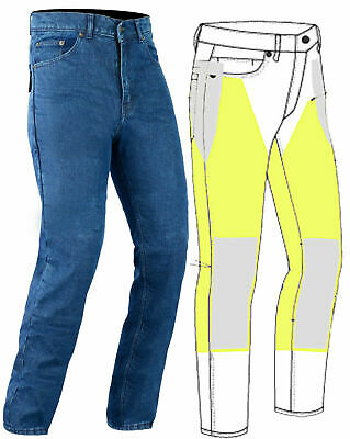New Mens Motorcycle/Motorbike Jeans Lined with DuPont Kevlar all sizes in stock