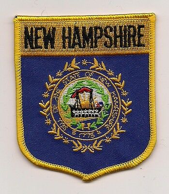 Souvenir Patch - The State Of New Hampshire- Flag