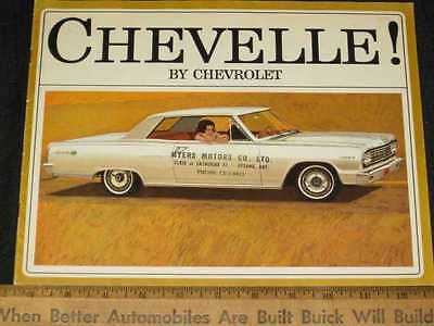 1964 Chevrolet Chevelle Sales Brochure (CDN)