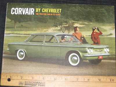 1960 Chevrolet Corvair Catalog Sales Brochure