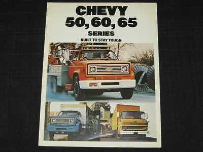 1967 Chevrolet Truck Series 50,60,70 Sales Brochure CDN