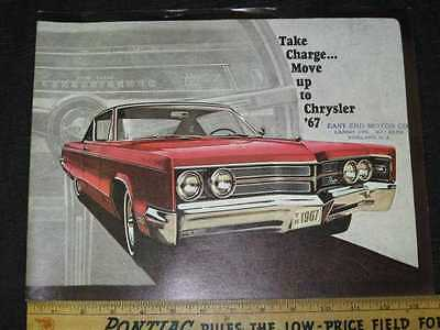 1967 Chrysler Full Size Catalog Sales Brochure