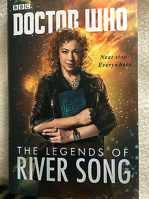 Doctor who Legends of river song book signed and sonic screwdriver