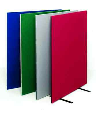 150cm (h) Free Standing Office Partition Room Divider Screen Choice of 9 colour