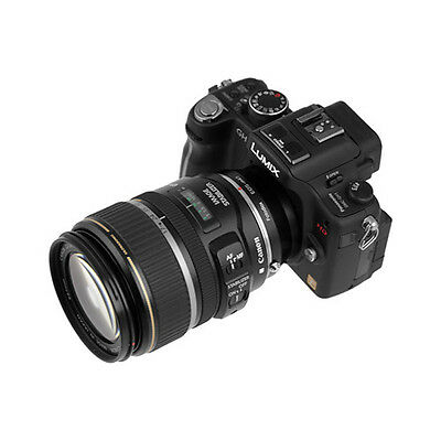 Fotodiox Adapter, Canon EOS Lens to Micro Four Thirds (MFT, M4/3) Camera