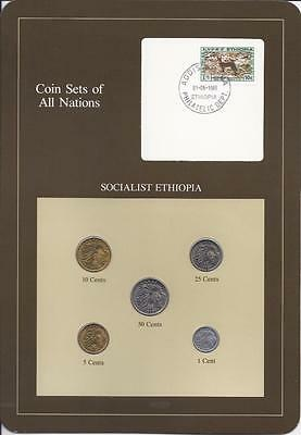 Coin Sets of All Nations - Ethiopia