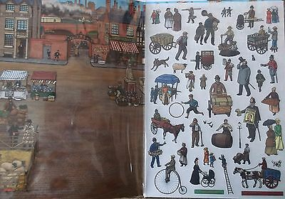 Childrens craft history THE VICTORIANS LIFE TRANSFERS PACK party gift or reward