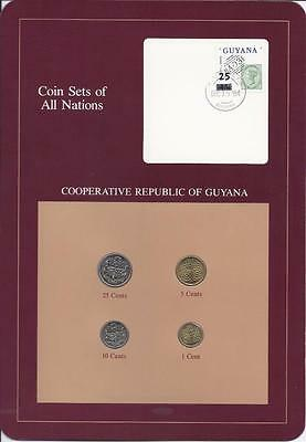 Coin Sets of All Nations - Guyana