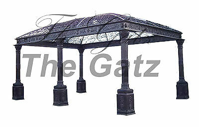 Iron Gazebo Pavilion features Corinthian Capitals Fabulous Large