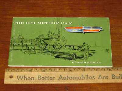 1961 Meteor Ford of Canada Owner's Manual (CDN) NOS