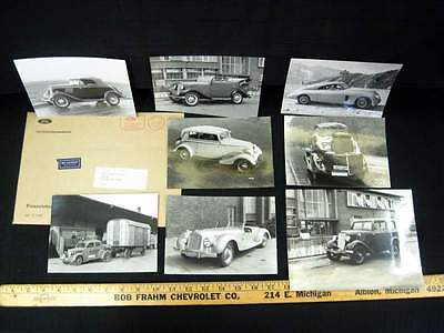 1932-1941 FORD of Germany Press Photographs Factory Glossy Car Photos