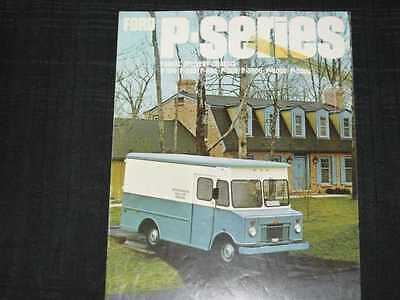 1967 Ford Trucks Parcel Delivery Folder Sales Brochure
