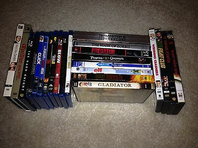 Huge DVD Blu Ray Lot - You Choose Which Movies & How Many (Extras Ship Free)