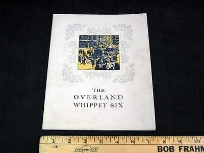 1927 Overland Whippet Six Dealer Sales Brochure