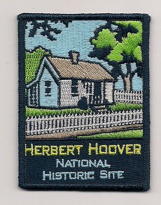 Embroidered Souvenir  Patch - Herbert Hoover National Historic Site, Iowa