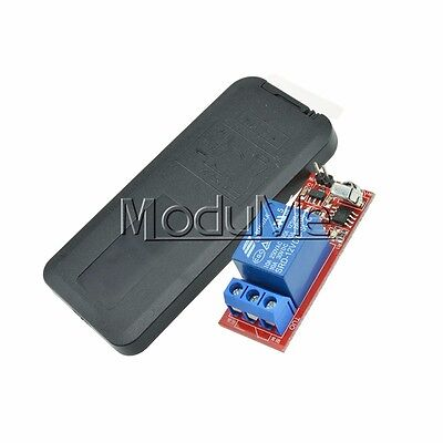 1 Channel Infrared Switch Relay Driving Module Board 12V Remote Controller M