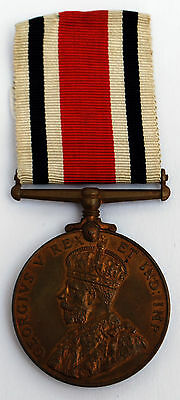 George V Police Special Constabulary Bronze Medal To Charles Wadsworth