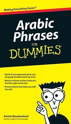 Arabic Phrases for Dummies by Amine Bouchentouf Paperback Book (English)
