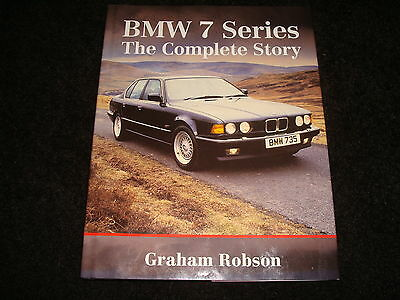 BMW 7 SERIES THE COMPLETE STORY BY GRAHAM ROBSON - DATED 2001 1st EDITION