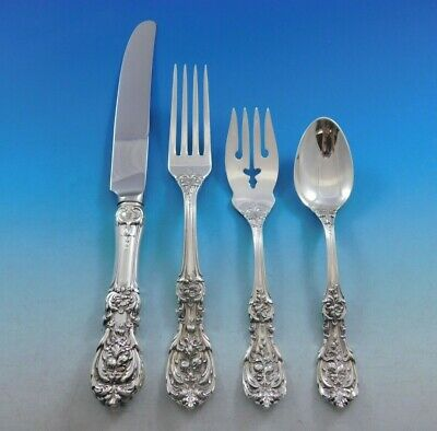 Francis I by Reed & Barton Sterling Silver Flatware Service Set 24 Pieces Old