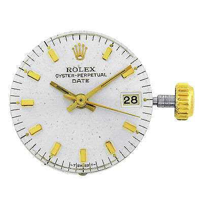 Rolex Date 6517 1161 Caliber Automatic Ladies Watch Movement