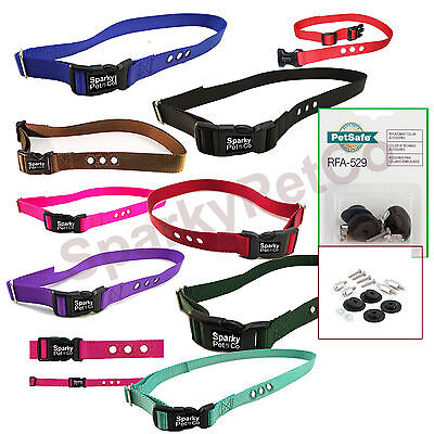 """Petsafe Accessory Refresh Pack RFA-48  Compatible 1""""  3 Holed Replacement Strap"""