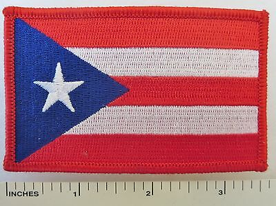Puerto Rico - Embroidered U.s. Territory Flag Souvenir Patch