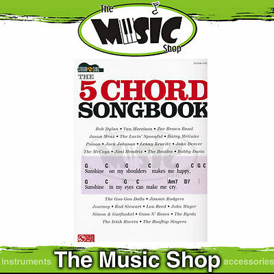 "New ""The 5 Chord Songbook"" Strum & Sing Music Book - Chords & Lyrics"