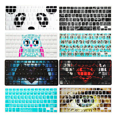 "60 Color Silicon Keyboard Cover Skin for Apple Macbook Air Pro 11""12""13""15""17"""