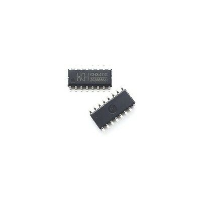 5pcs CH340G IC Board SOP-16 JGB Cable Serial chip S!