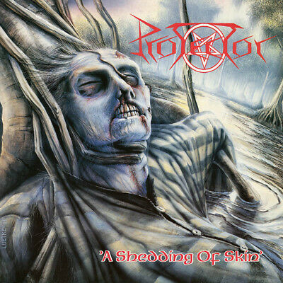 PROTECTOR - A Shedding of Skin  LP  BLOOD-RED