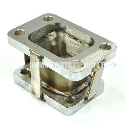Steel Turbo to Exhaust Manifold Adapter Flange T3 T34 T35 T38 to T2 T25 T28 GT28