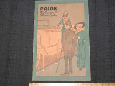 1915 Paige Four & Six Prestige Sales Brochure