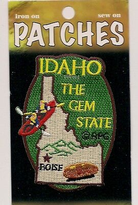 Souvenir Patch - State Of Idaho - Gem State - Boise