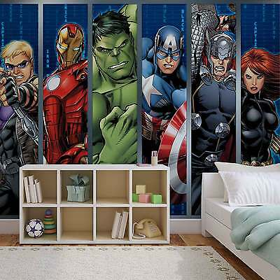 WALL MURAL Marvel Avengers XXL PHOTO WALLPAPER (964DC)
