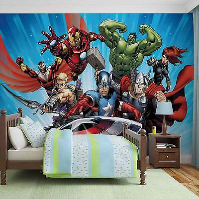 WALL MURAL Marvel Avengers XXL PHOTO WALLPAPER (963DC)