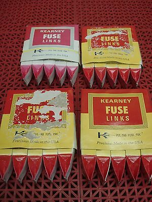 Lot of 5 Kearney FitAll Fuse Link KS 80A CAT. 21080 Cooper Power Systems  NEW