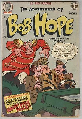 Adventures of Bob Hope #8 April 1951 VG-