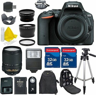 Nikon D5500 24.2 MP CMOS Digital SLR Camera + 18-140mm VR Lens + Accessories
