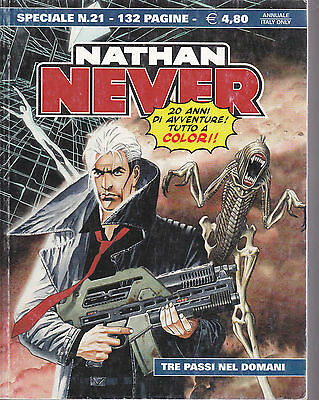 NATHAN NEVER speciale N°21 A COLORI